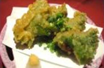 しそ巻き納豆天ぷら